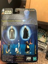 2002 STAR WARS ATTACK OF THE CLONES Collection 2 chancelier suprême Palpatine #39 FACTORY SEALED
