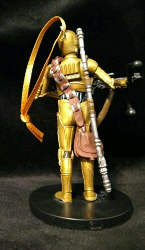 Star War the Rise of Skywalker Christmas Ornament C3PO droid