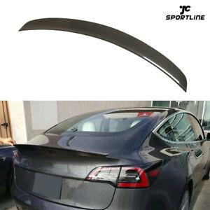 Carbon-Heckspoiler-Abrisskante-Spoiler-Lippe-Heckfluegel-fuer-Tesla-Model-3-16-18