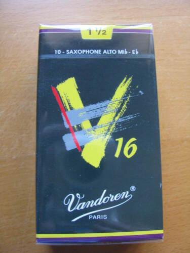 Vandoren V16 Altsaxophonblätter Stärke 1,5  EINZELBLATT