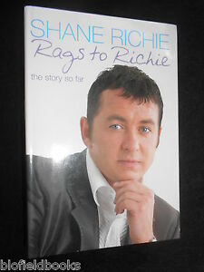 SIGNED-From-Rags-to-Richie-by-Shane-Richie-2003-1st-Eastenders-Alfie-Moon-TV