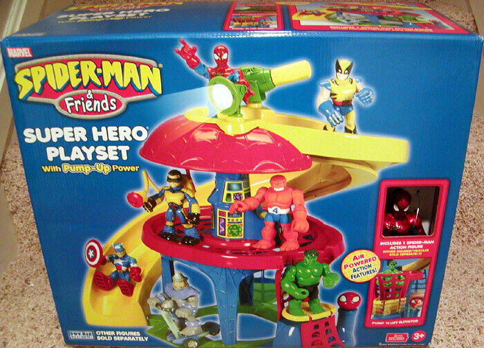 SPIDERMAN & SES AMIS Super Heroes Playset
