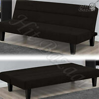 Convertible Futon Sofa Bed Modern Couch Large Sleeper Lounger Guest Furniture