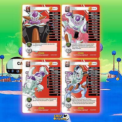 Dragon Ball Z Panini Base Set Krillan level 1-4 High-Tech FOIL Main Personality