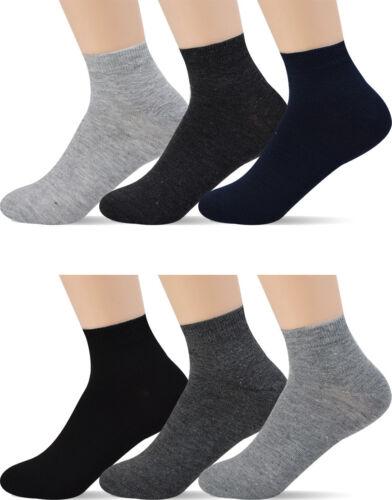 12 Pairs Men/'s Ankle Low Cut Socks For Men Shoe Size 8-12 10 Styles