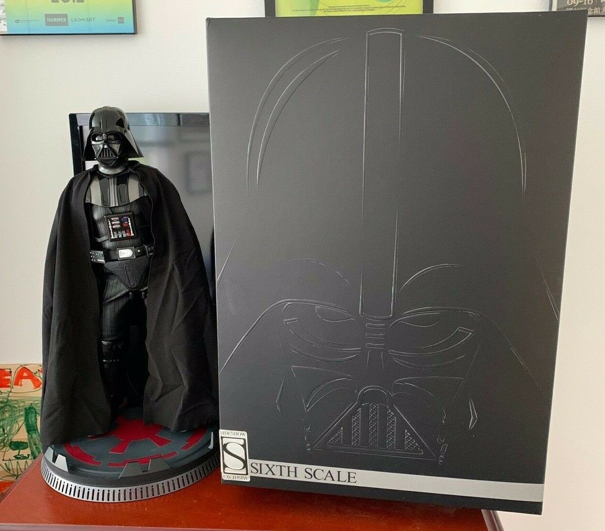Sideshow Collectibles Darth Vader Deluxe (1/6) Sixth Scale Figure, Exclusive on eBay thumbnail