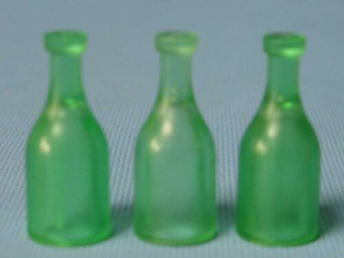 Playmobil three pop house shop supermarket beer bottles in green spares