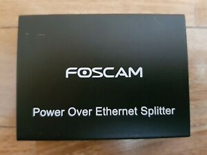 Foscam PD15 - PoE Splitter, adattatore LAN Power Over Ethernet per telecamere IP