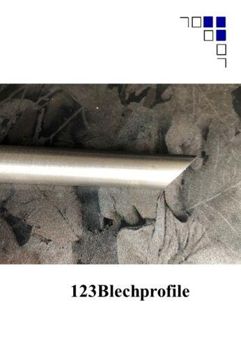 Edelstahl V2A Rundmaterial Schräge Garten Pfosten Ø6-60mm bis 2m mit Spitze
