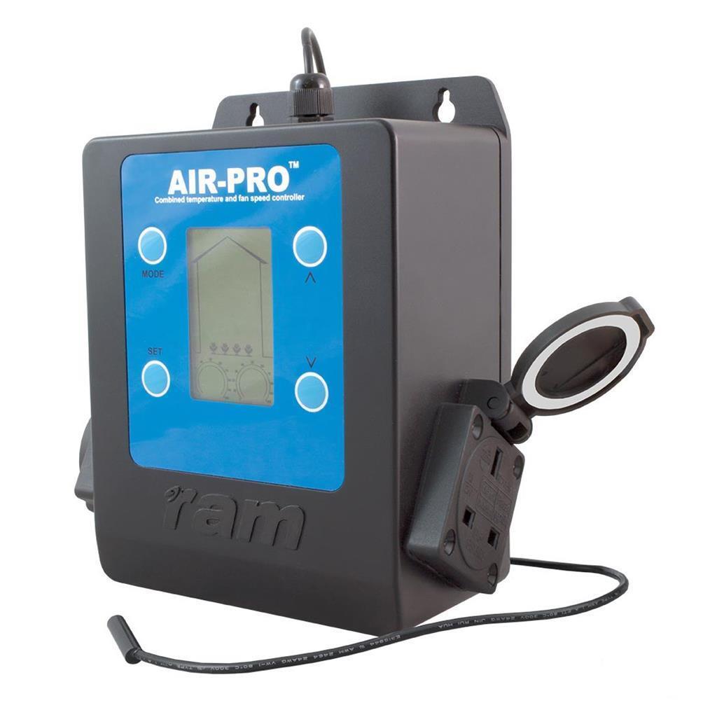 Digital RAM AIR PRO II CONTROLLER velocità della ventola
