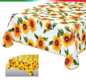 Tovaglia plastificata tavola cucina 5 misure bordata copri for Misure tavolo cucina