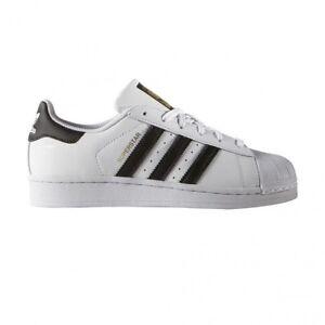 5aafec4819ea35 adidas Superstar J C77154 White Black Trainers UK 5 for sale online ...