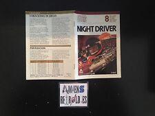 Notice/Manuel/Mode d'emploi Night Driver Atari 2600 CX2633