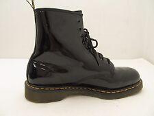 Doc Dr. Martens boots Black patent leather air walk black Size 13/47
