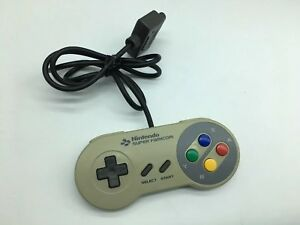 Super-Famicom-Controller-x1-Official-Nintendo-Fully-working-for-SNES-Yellowing