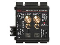 Rdl Fp-spr1 Spdif Repeater/amplifier