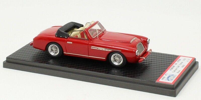 Ferrari 166 Inter  0063S Cabriolet Stabilimenti Farina 1950