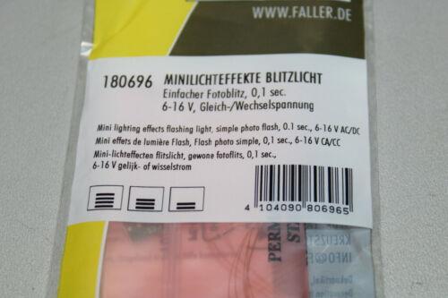 Faller 180696 Minilichteffekte Blitzlicht Spur H0 OVP