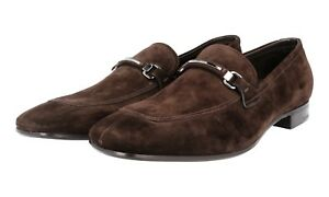 Nuovo Shoes 9 Business Brown 43 Prada 2db084 Luxury Suede 5 Loafer 43 Bit R8En1
