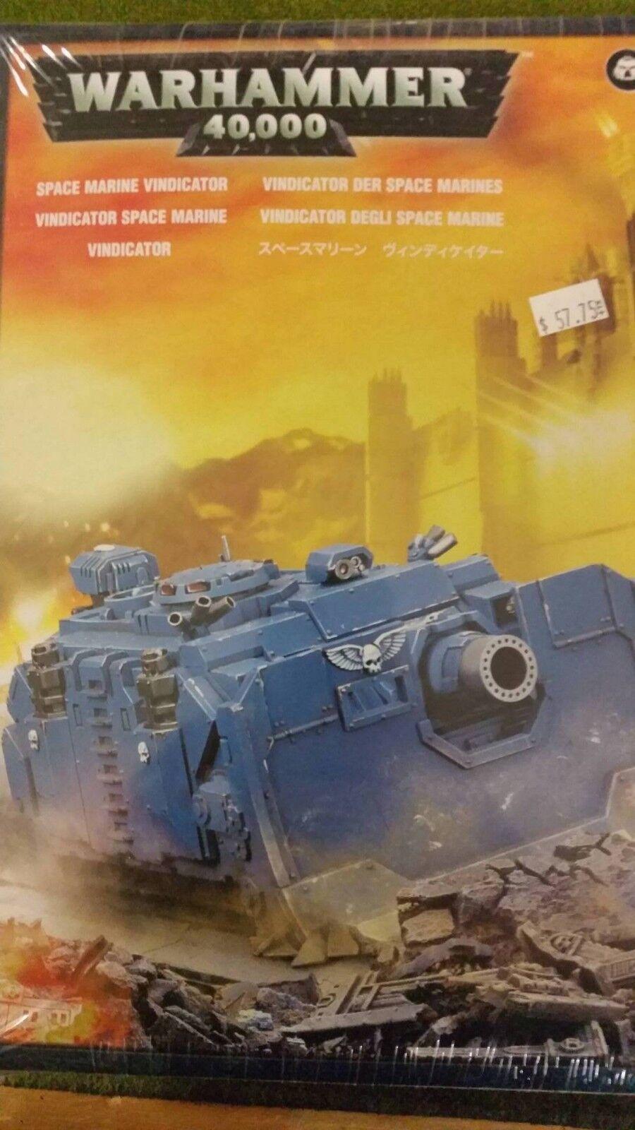 Warhammer 40k adeptus astartes space marine vindicator starke unterstützung, neue