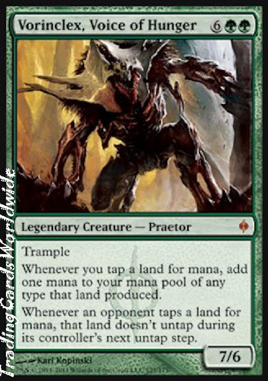 Vorinclex, stimme des hungers     nm     neue phyrexia     engl.    magic the gathering