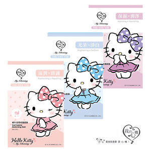 MY-SCHEMING-Hello-Kitty-Series-Moisturizing-Hydrating-Essence-Facial-Mask-1pc