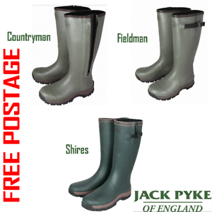 f57fc31e4d3 Details about JACK PYKE WELLINGTON BOOTS HUNTING SHOOTING FISHING OUTDOORS  HIKING WELLIES
