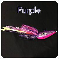 Caivo 3d Mad Dog Jigs Col:purple(mad Squid) , Bottom Jigs