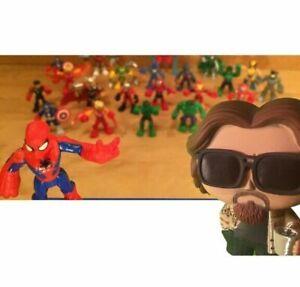 MARVEL SUPER HERO SQUAD low ship CAKE TOPPER Figure CHOOSE 2 playskool heroes