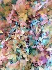 CORIANDOLI biodegradabili Butterfly rosa avorio Blu Eco Friendly Borsa grande vintage