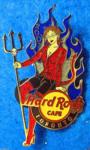 Toronto-Canadien-Diable-Fille-Lady-Trident-Fourche-Flames-07-Hard-Rock-Cafe-Pin