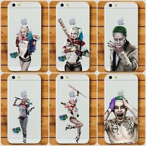 coque iphone 8 harley quinn and joker