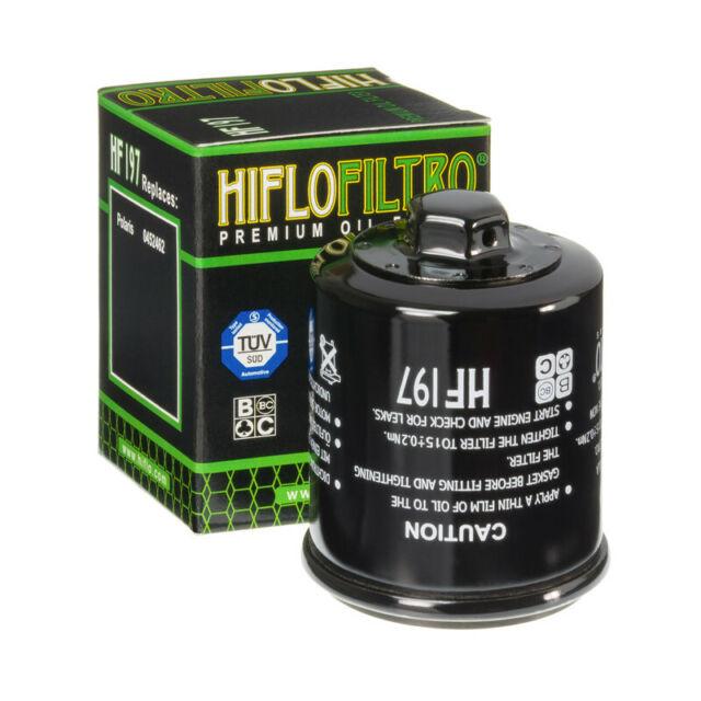 Filtre à huile HF197 Hiflofiltro pour Polaris Hyosung PGO