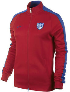 8c03d80e6 NIKE USA SOCCER TEAM WOMEN'S AUTHENTIC N98 TRACK JACKET FIFA WORLD ...