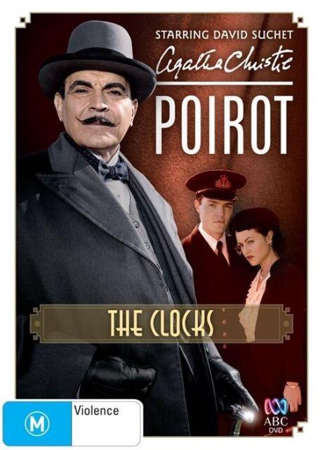 DVD Poirot : The Clocks - Agatha Christie, David Suchet - FREE POST #P2