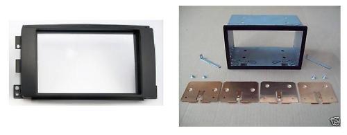Mascherina Kit autoradio monitor Doppio 2 Din SMART Fortwo 2007 al 2011 For Two