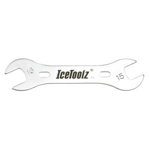 chiave per coni mozzi 17-18 mm ICETOOLZ bici ruote
