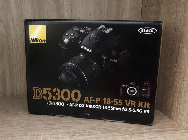 NIKON D5300 Schwarz mit AF-P 18-55mm VR Kit NEU OVP