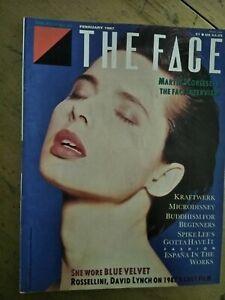 THE-FACE-MAGAZINE-FEBRUARY-1987-ROSSELLINI-LYNCH-KRAFTWERK-SCORSESE