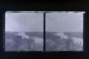 Amboise-Francia-Foto-Stereo-Negativo-Su-Film-Morbido-1913