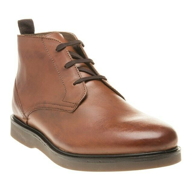 neu herren H by Hudson Tan Calverston Chukka Go Leather Stiefel Lace Up