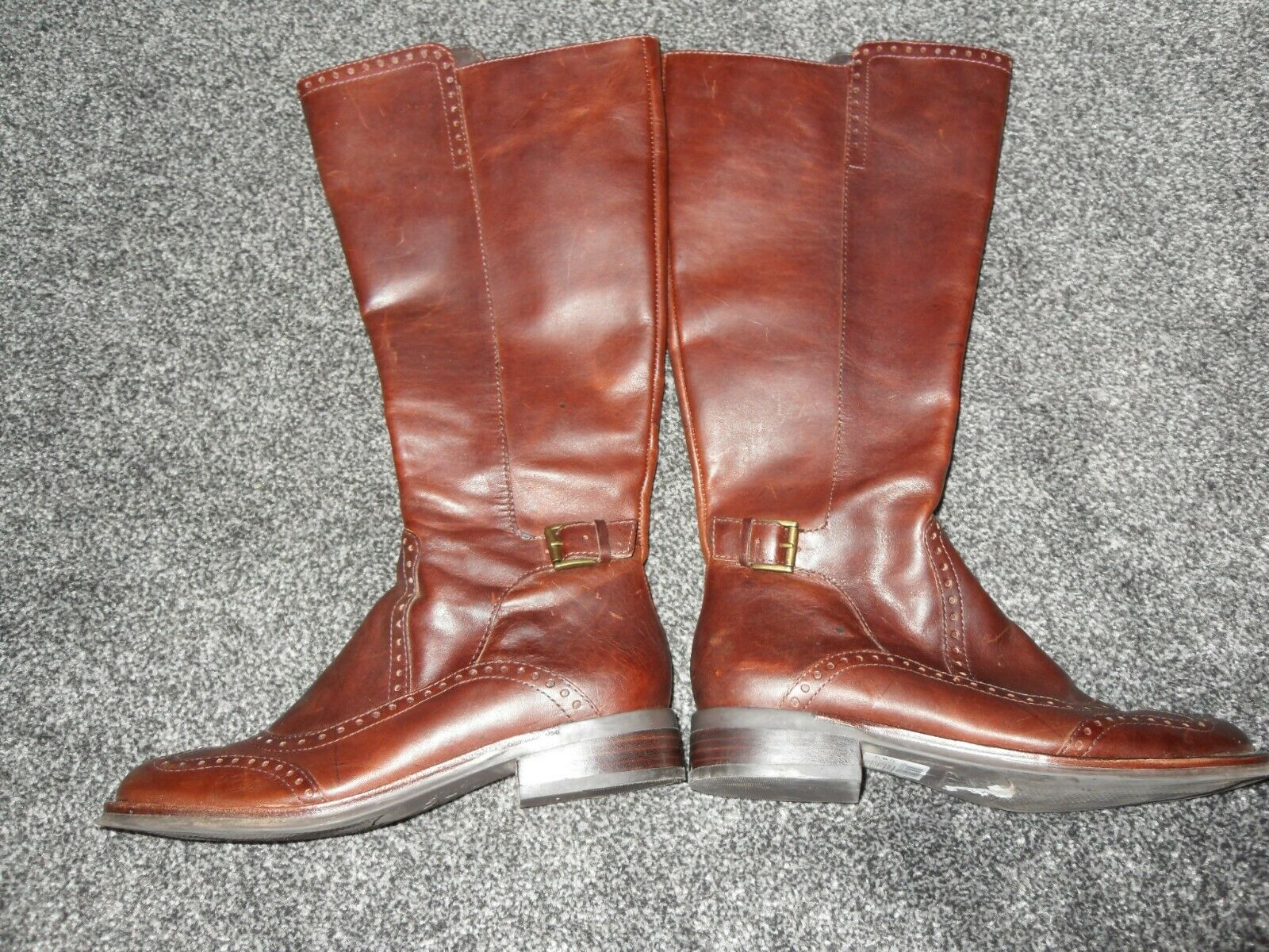 LADIES  LEATHER BOOTS, CLARKS SIZE 4