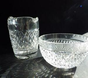 Honesty Clear Crystal Bowl Art Glass