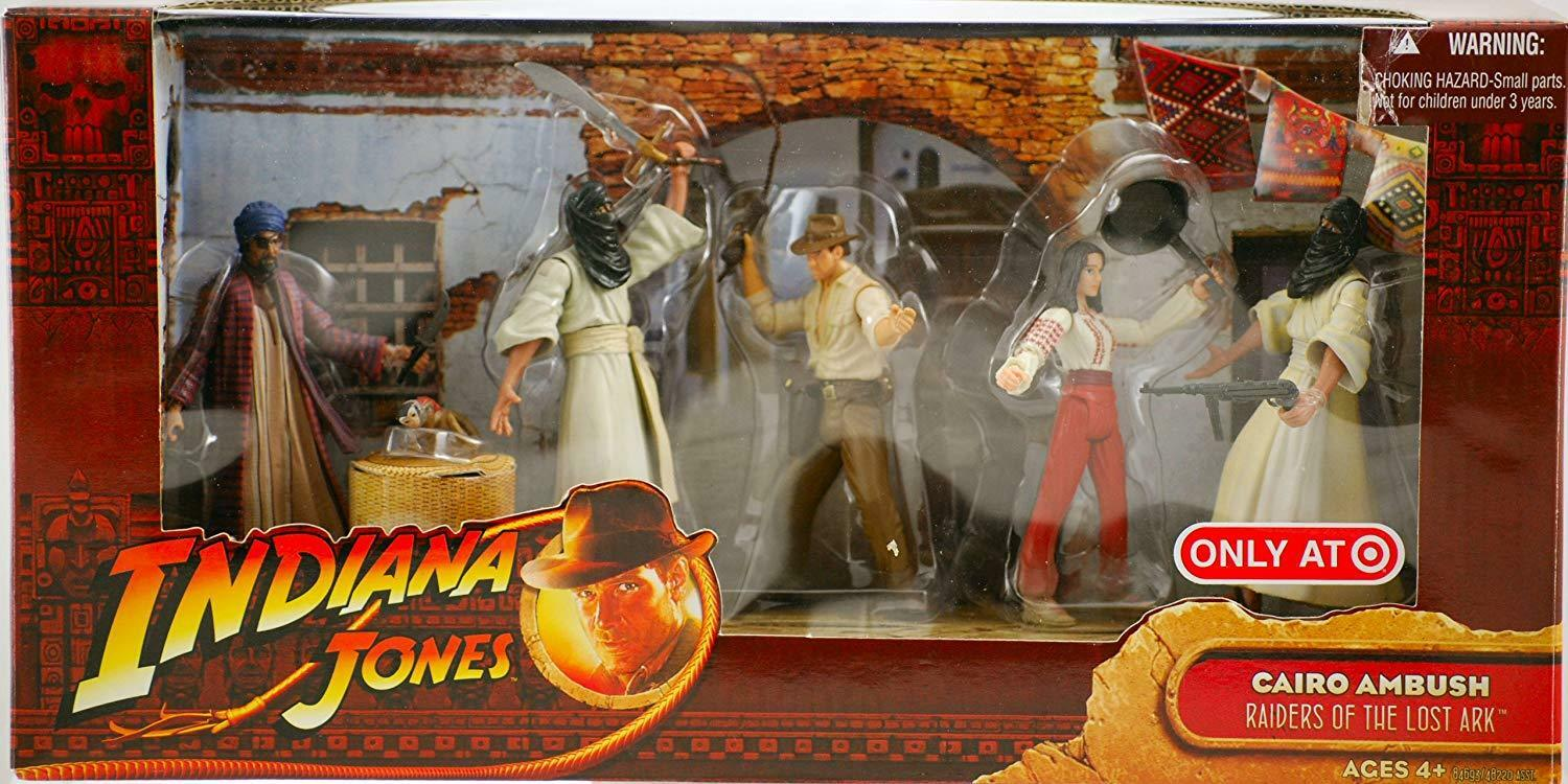 Indiana Jones Raiders Of The Lost Ark Cairo Ambush Exclusive Battle ...