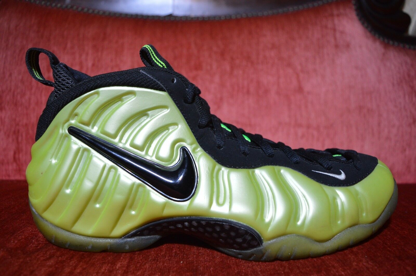 9e302270975 Clean Nike Air Foamposite Pro Electric Green 624041-300 Size 11 ...