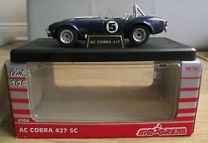 Majorette 4104 - AC Cobra 427 SC - Original Model in original Box (ODD111)