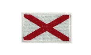 AUFNAHER-Patch-Aufbuegler-FLAGGEN-flagge-ST-PATRICK-KREUZ-Fahne