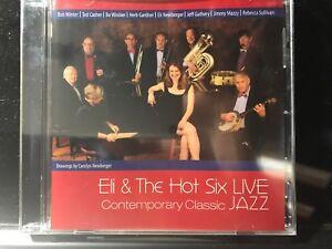 Eli-Newberger-amp-The-Hot-Six-Contemporary-Classic-Jazz-CD