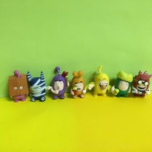 7pcs-Oddbods-Fusible-Bulles-Pogo-Newt-Jeff-Zee-Lisse-Mini-Figurines-S90