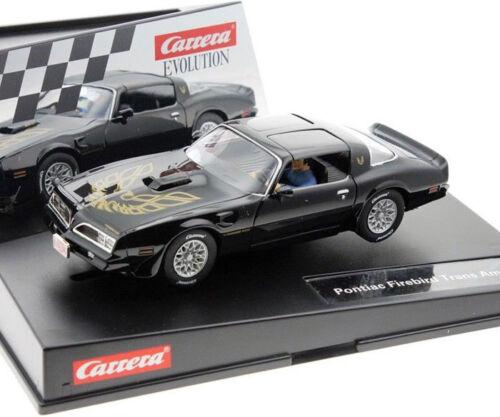 Carrera 27590 Pontiac Firebird Trans AM Evolution 1//32 Slot Car